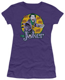 Juniors: DC-The Joker T-shirts