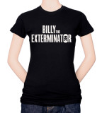 Juniors: Billy The Exterminator-Logo Shirts
