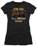 Juniors: Star Trek Original-Cat's Paw T-shirts