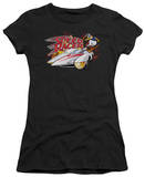 Juniors: Speed Racer-Jump In The Car T-Shirt