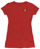 Juniors: Batman-Robin Logo T-shirts