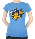 Juniors: Garfield-Master Of Disaster T-Shirt