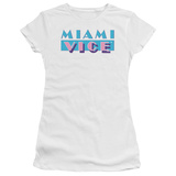 Juniors: Miami Vice-Logo T-shirts