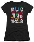 Juniors: DC-Nine Blocks Of Justice T-Shirt