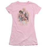 Juniors: Punky Brewster-Pb Distressed T-Shirt