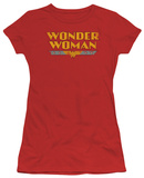 Juniors: DC-Wonder Woman Logo Camisetas