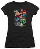 Juniors: Justice League America-Break Free Shirts