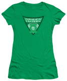 Juniors: Batman BB-Green Lantern Shield T-shirts