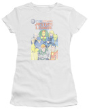 Juniors: Justice League America-Justice League 1 Cover T-Shirt