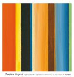 Hampton Stripe II Prints by Fran Chandler