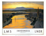 Inverness, LMS/LNER, c.1923-1947 Poster