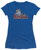 Juniors: Archie Comics-Distressed Archie Logo T-Shirt