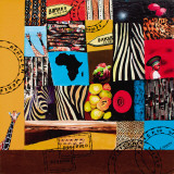 African World Affiches par Sophie Wozniak