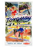 Torquay, BR, c.1956 Posters