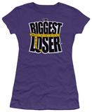 Juniors: Biggest Loser-Logo T-shirts