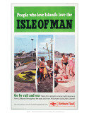Isle of Man, British Rail Print