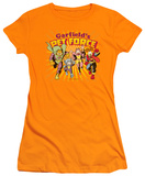 Juniors: Garfield-Pet Force Burst T-Shirt