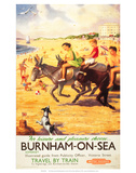 Burnham-on-Sea, BR (WR), c.1950s Posters
