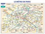Métro De Paris Affiche par  Ratp