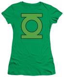 Juniors: DC-Lantern Symbol T-shirts