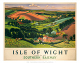 Isle of Wight,SR, c.1946 Posters by  Allinson