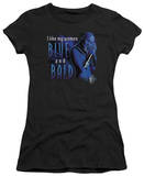 Juniors: Farscape-Blue And Bald T-Shirt