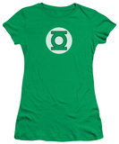 Juniors: DC-Green Lantern Logo Shirts