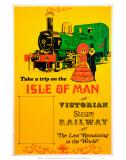 Isle of Man Victorian Steam Railway, c.1980s Posters