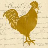 Tuscan Rooster I Posters by Sharyn Sowell