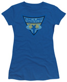 Juniors: Batman BB-Blue Beetle Shield T-shirts