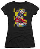 Juniors: Speed Racer-Manga Cover Checkers T-shirts