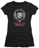 Juniors: Betty Boop-Born To Ride Shirts