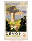 Devon, GWR, c.1930s Stampa