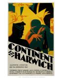 Continent via Harwich, LNER, c.1923-1930 Prints