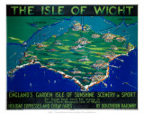 The Isle of Wight, SR, c.1930 Art par George Ayling