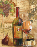 Wine Collage I Posters by Gregory Gorham