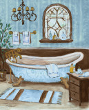 Tranquil Tub II Posters af Todd Williams