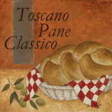 Toscano Pane Classico Poster by Jane Carroll