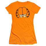 Juniors: Garfield-Big Head T-Shirt