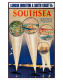 Southsea, LBSCR, c.1910s Posters by Guy Lipscombe