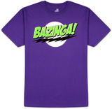 Big Bang Theory - Bazinga! Camisetas