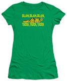 Juniors: Garfield-Blah Blah Blah T-Shirt