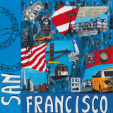 San Francisco Prints by Sophie Wozniak