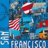 San Francisco Posters by Sophie Wozniak