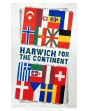 Harwich for the Continent, LNER, c.1923- 1947 Posters