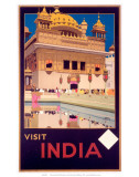 Indian State Railways: Visit India Art