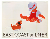 East Coast by LNER, LNER, c.1935 Poster