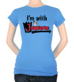 Juniors: Archie Comics-I'm With Jughead Shirts