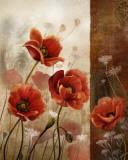 Wild Poppies II Posters par Conrad Knutsen