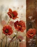 Wild Poppies II Prints by Conrad Knutsen